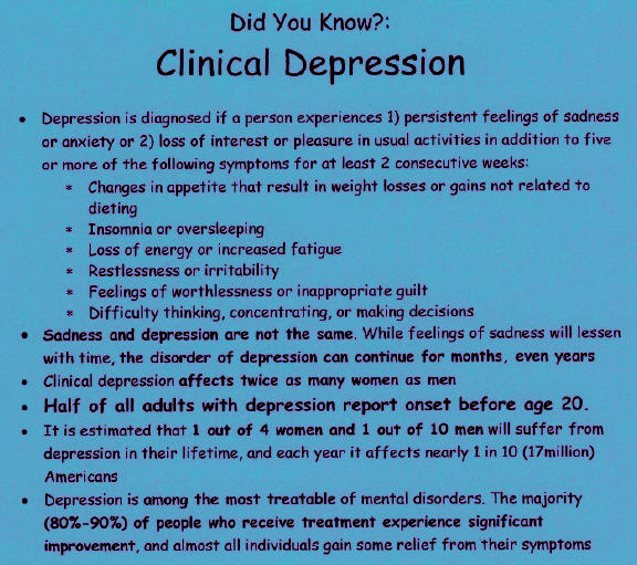 understanding the highly misunderstood medical illness of depression Depression is a common mental illness that can impact daily life depression is a prevalent mental health illness throughout the world links between diet and depression were misunderstood until recently.